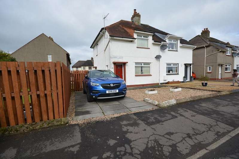 2 Bedrooms End Of Terrace House for sale in Ladyton Drive, Galston, KA4