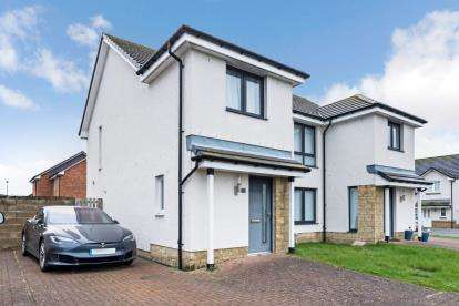 3 Bedrooms Semi Detached House for sale in Kings Park Crescent, Ayr