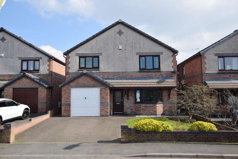 4 Bedrooms Detached House for sale in Turnstone Crescent, Askam In Furness