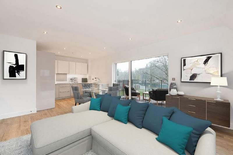 2 Bedrooms Flat for sale in Roseneath Mansions, Woodside Square, Muswell Hill