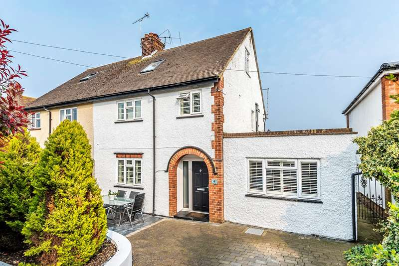 4 Bedrooms Semi Detached House for sale in High View, Hitchin, SG5