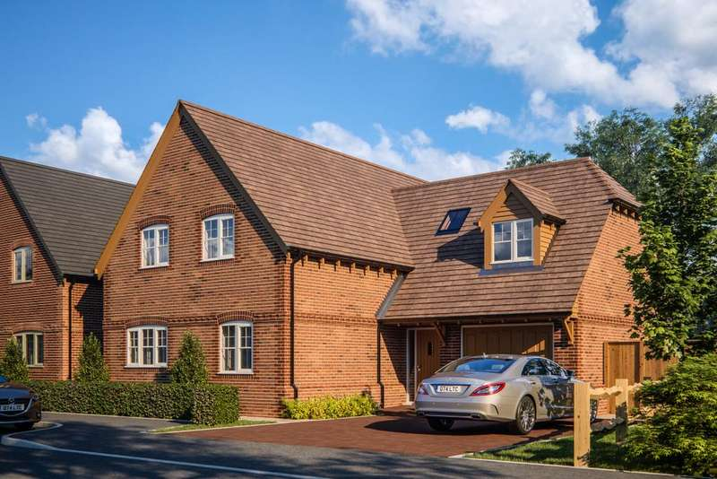 4 Bedrooms Detached House for sale in Arborfield Green, Reading, RG2