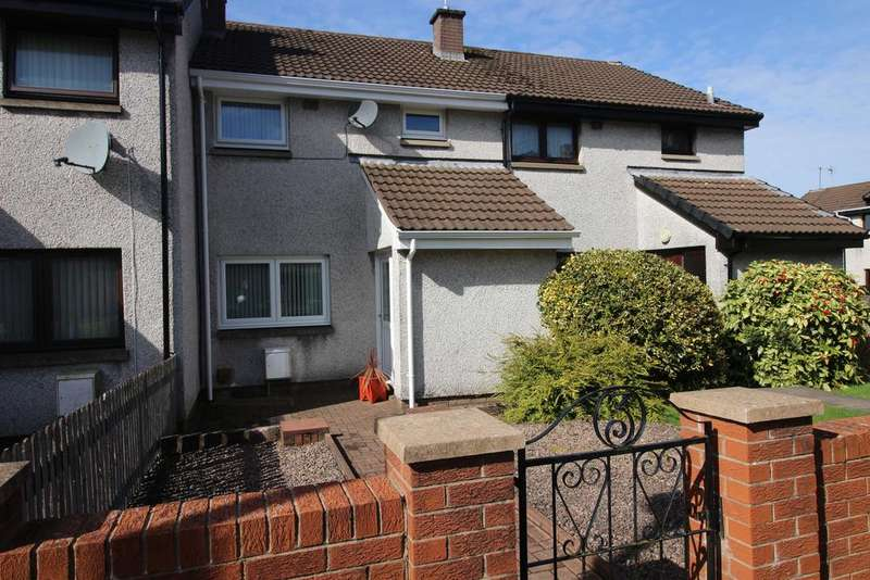 3 Bedrooms Terraced House for sale in Johnstone Court, Lockerbie DG11