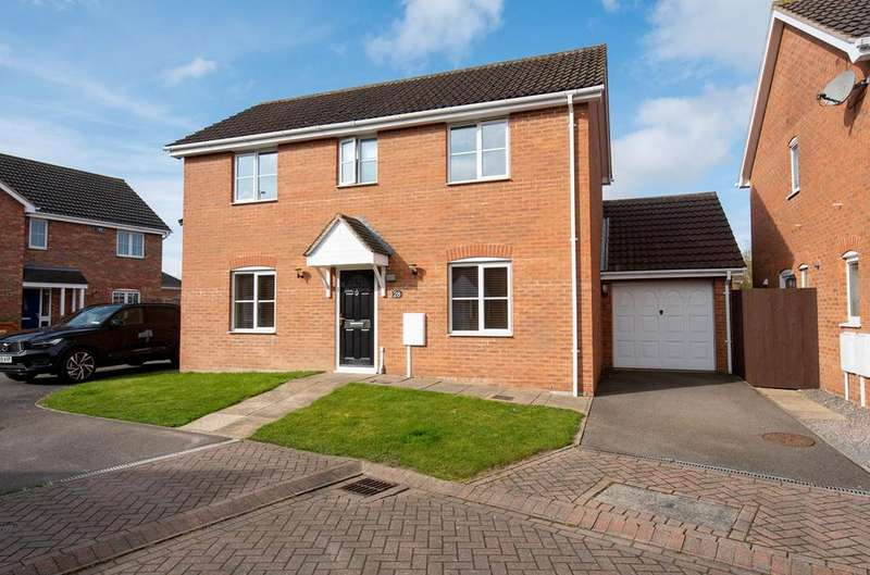 3 Bedrooms Detached House for sale in Percheron Drive, Spalding, PE11