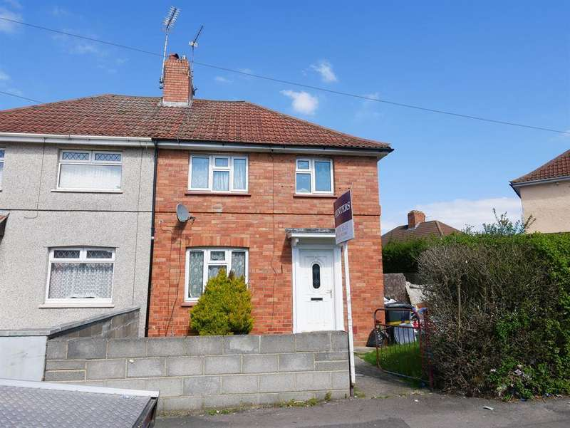 3 Bedrooms Semi Detached House for sale in Ilminster Avenue, Knowle, Bristol, BS4 1LT