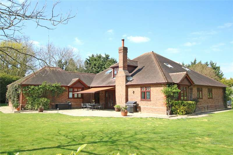 6 Bedrooms Detached Bungalow for sale in Croft Road, Shinfield, Reading, Berkshire, RG2