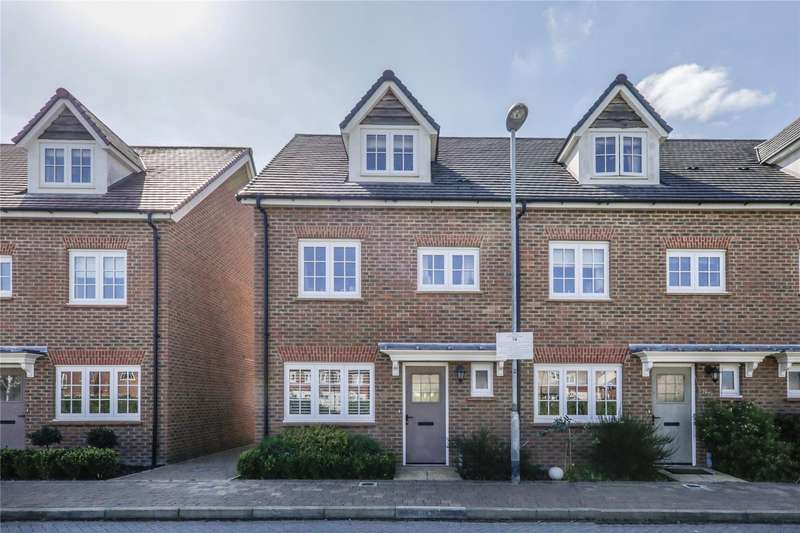 4 Bedrooms End Of Terrace House for sale in Fulmar Crescent, Bracknell, Berkshire, RG12