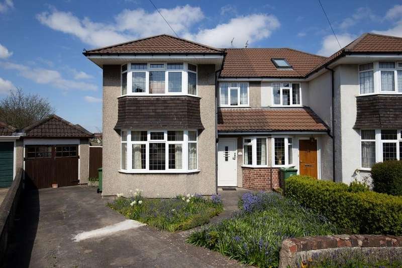 3 Bedrooms Semi Detached House for sale in Montroy Close, Henleaze, Bristol, BS9
