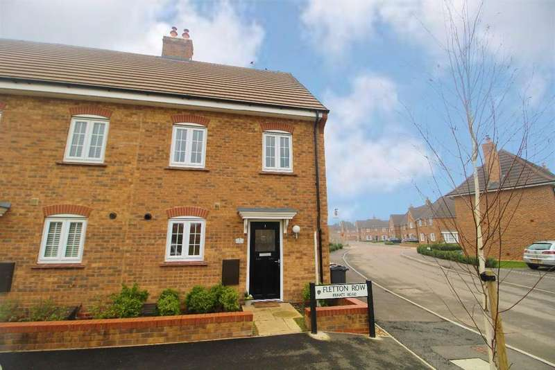 3 Bedrooms End Of Terrace House for sale in Fletton Row, Stewartby, MK43