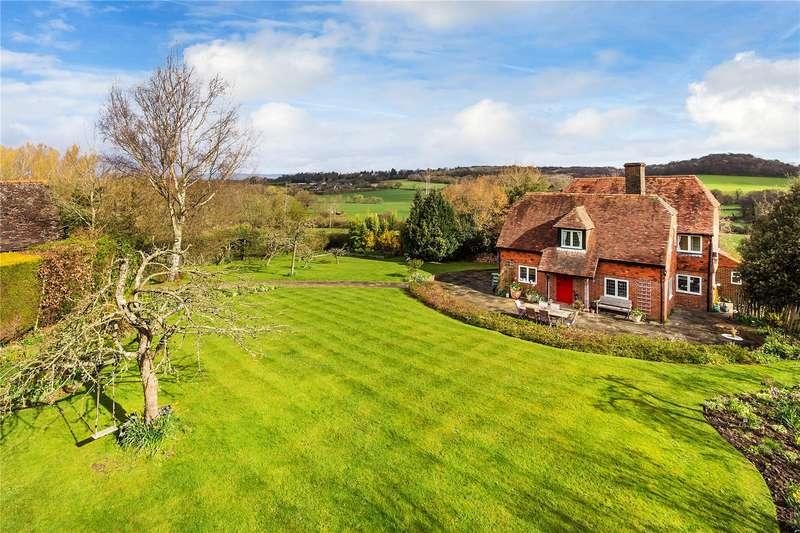 4 Bedrooms Detached House for sale in Poundsbridge Hill, Poundsbridge, Penshurst, Kent, TN11