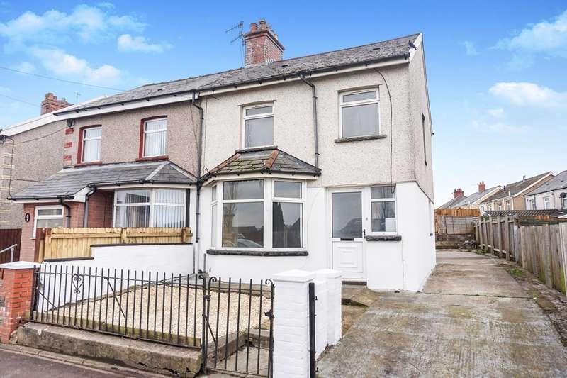 3 Bedrooms Semi Detached House for sale in Hengoed Avenue, Cefn Hengoed, Hengoed, CF82
