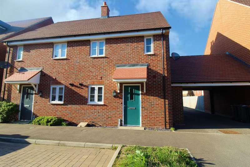3 Bedrooms Semi Detached House for sale in Bittern Lane, Wixams, MK42