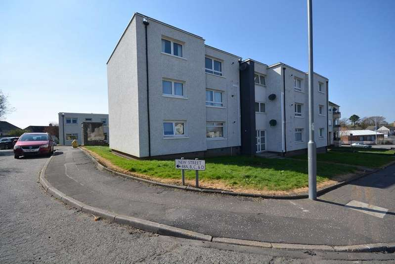 2 Bedrooms Flat for sale in New Street , Kilmarnock , Ayrshire , ka1