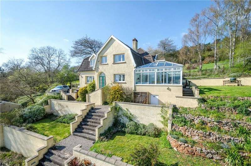 4 Bedrooms Detached House for sale in Tower House Lane, Wraxall, Bristol, North Somerset, BS48