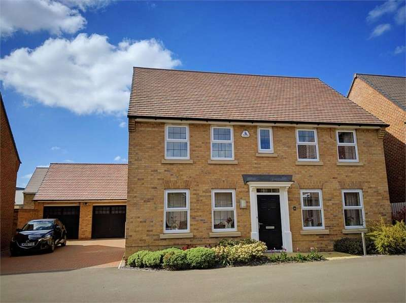 4 Bedrooms Detached House for sale in Arnold Drive, Corby, Northamptonshire