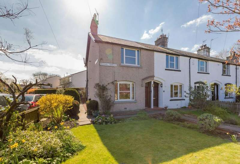 2 Bedrooms End Of Terrace House for sale in 9 Rosshill Terrace, Dalmeny, EH30 9JS