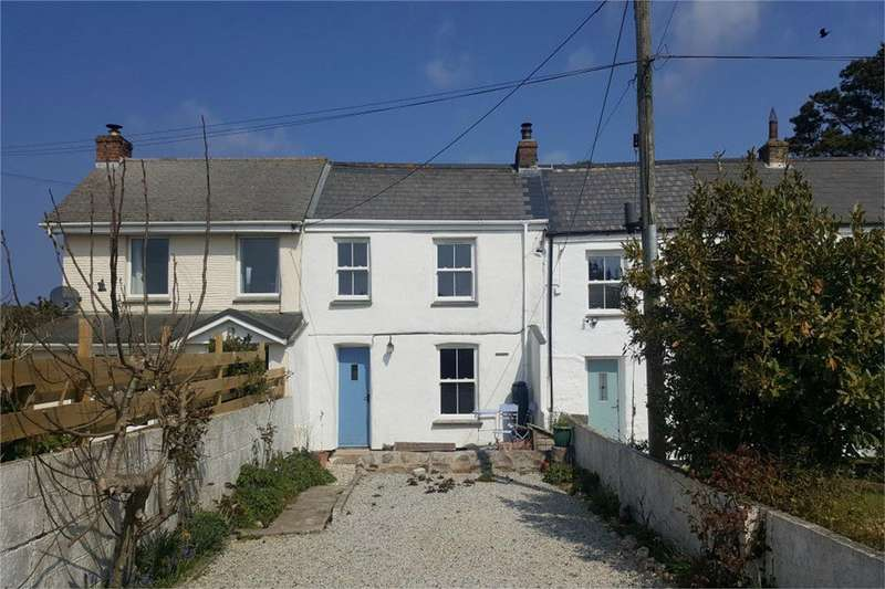 2 Bedrooms Cottage House for sale in Penwinnick Cottages, Penwinnick Road, ST AGNES, Cornwall