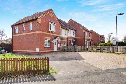 3 Bedrooms End Of Terrace House for sale in Palmers Leaze, Bradley Stoke, Bristol, Gloucestershire