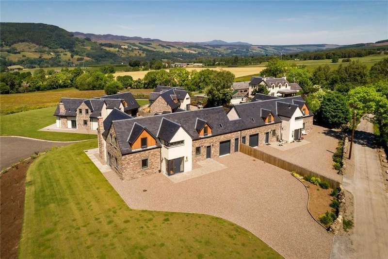 4 Bedrooms Link Detached House for sale in The Craigellachie, Pitilie View, Aberfeldy, PH15