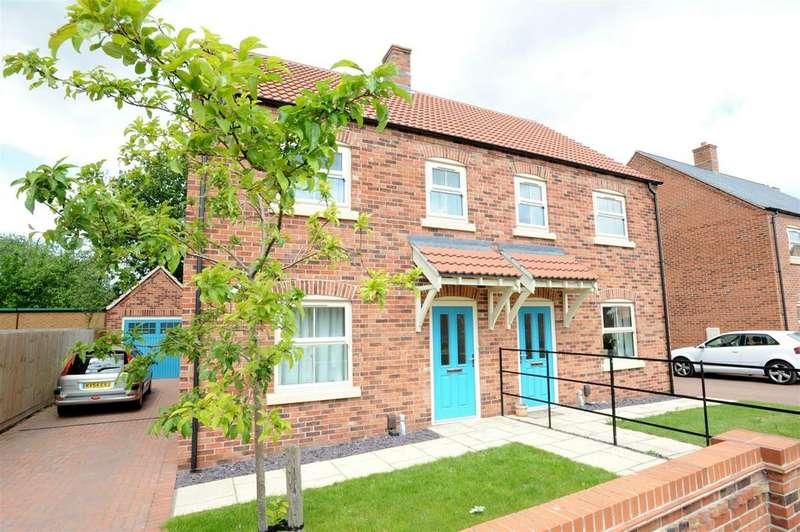 3 Bedrooms Semi Detached House for sale in Bradley, Plot 116 Tuplin Road, Mablethorpe