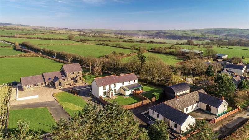 13 Bedrooms Detached Bungalow for sale in Maes Yr Haul, Tufton, Clarbeston Road, Pembrokeshire