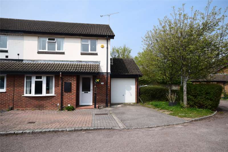 3 Bedrooms Semi Detached House for sale in Sirius Close, Wokingham, Berkshire, RG41
