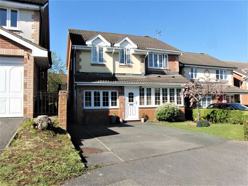 4 Bedrooms Detached House for sale in Clarendon Close, Thornwell, Chepstow