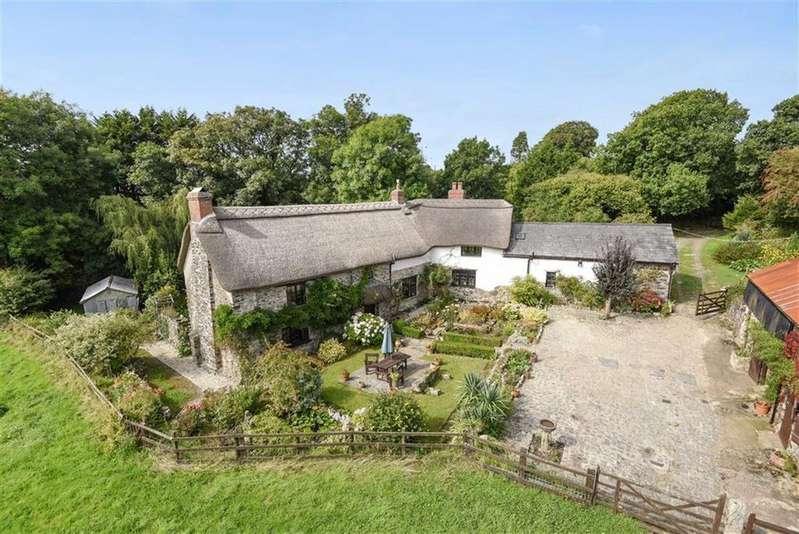 4 Bedrooms Detached House for sale in Liftondown, Lifton, Devon, PL16