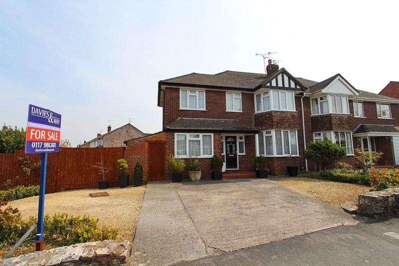 4 Bedrooms Semi Detached House for sale in Chandag Road, Keynsham, Bristol