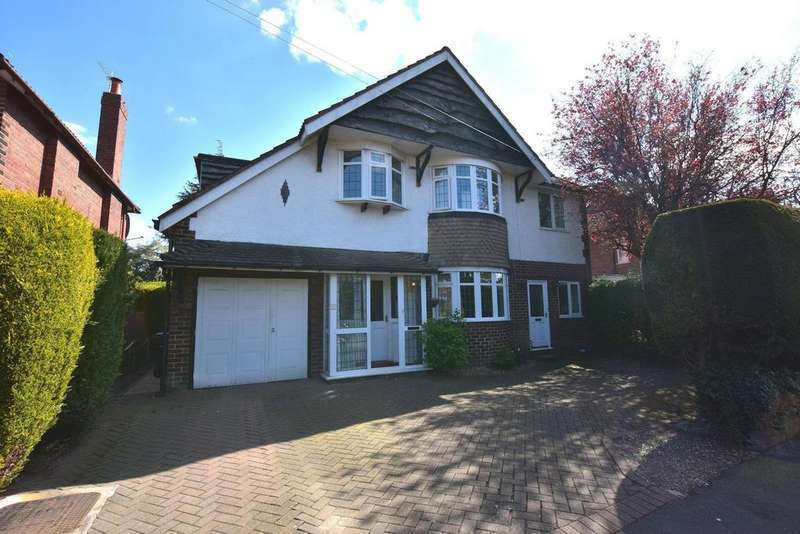 5 Bedrooms Detached House for sale in Yew Tree Park Road, Cheadle Hulme/Bramhall border, SK8