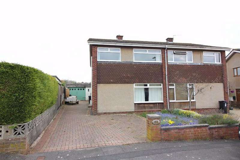 3 Bedrooms Semi Detached House for sale in St Helens Drive, Wick, Bristol