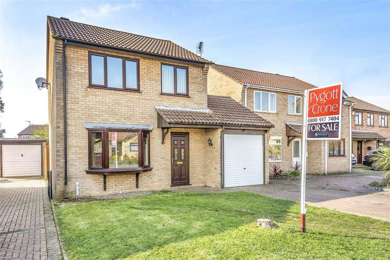 3 Bedrooms Detached House for sale in Ancaster Drive, Sleaford, NG34