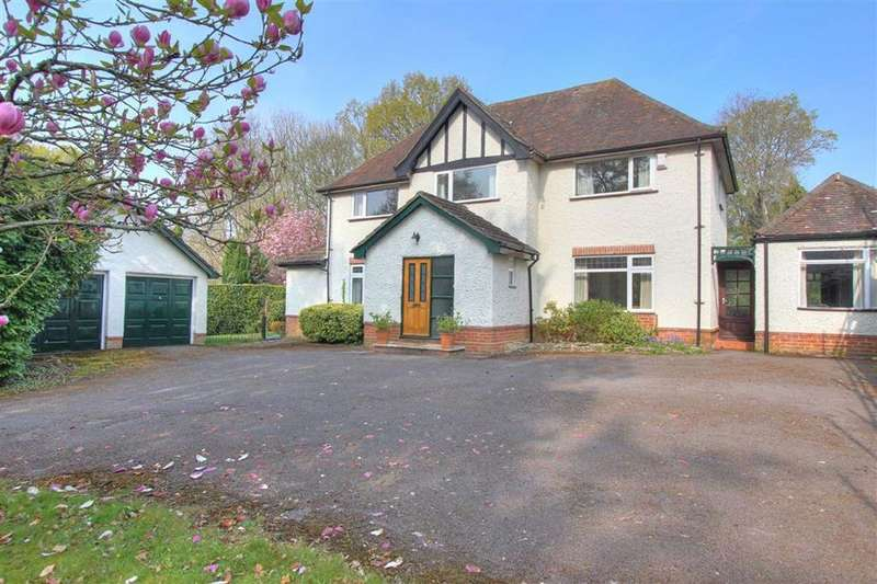 4 Bedrooms Detached House for sale in Winchester Road, Hiltingbury, Chandlers Ford, Hants