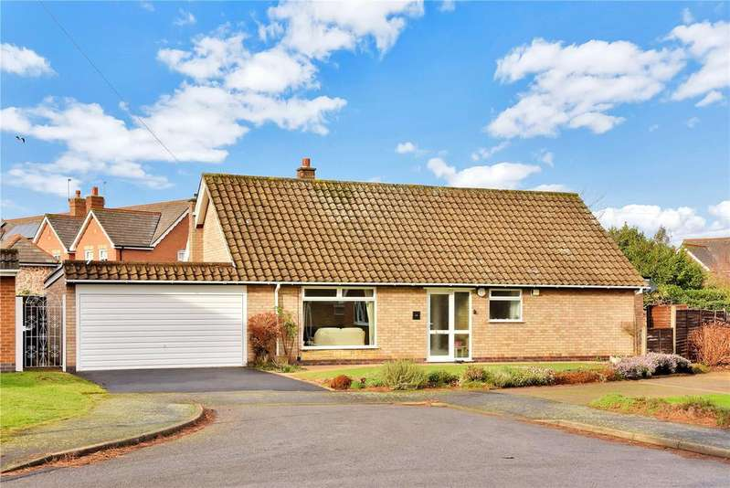 3 Bedrooms Bungalow for sale in Harrington Close, Quorn, Loughborough