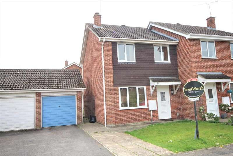 3 Bedrooms Semi Detached House for sale in Ravensbourne Drive, Woodley, Reading
