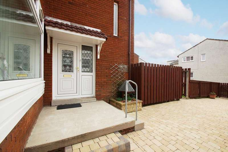 2 Bedrooms Semi Detached House for sale in Kilmarnock KA1