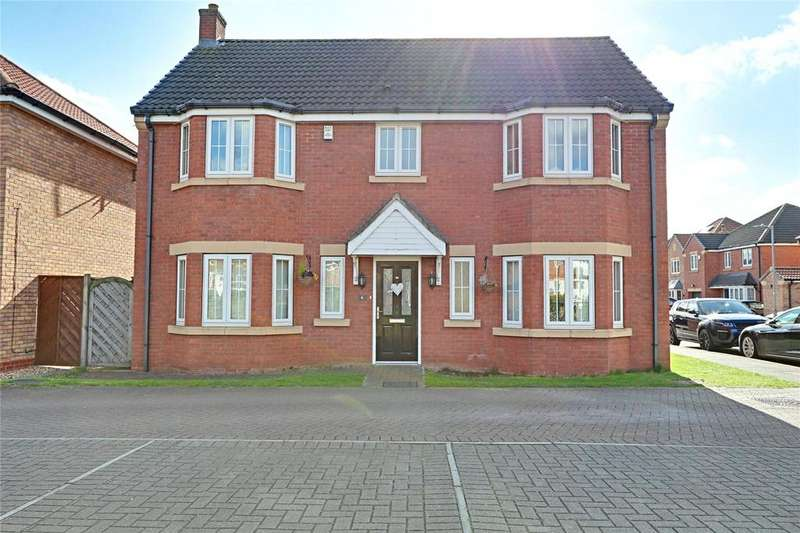 4 Bedrooms Detached House for sale in Pools Brook Park, Hull, East Yorkshire, HU7
