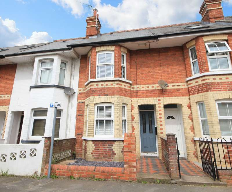 3 Bedrooms Terraced House for sale in Swainstone Road, Reading, RG2