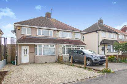 3 Bedrooms Semi Detached House for sale in Rodway Road, Patchway, Bristol