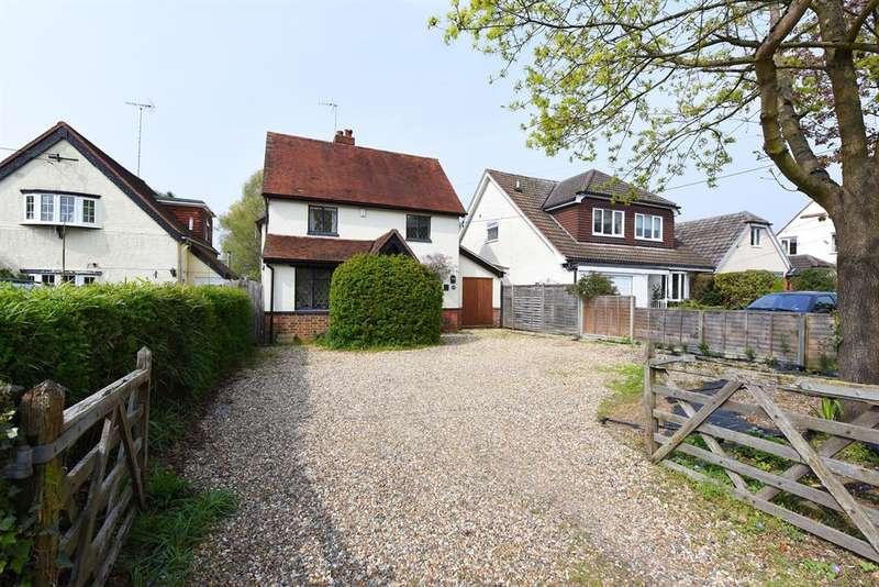 3 Bedrooms Detached House for sale in Barkham Road, Barkham, Wokingham, RG41 4DJ