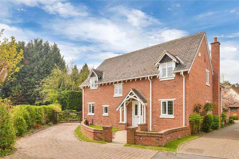 4 Bedrooms Detached House for sale in Badgers Walk, Quorn, Leicestershire