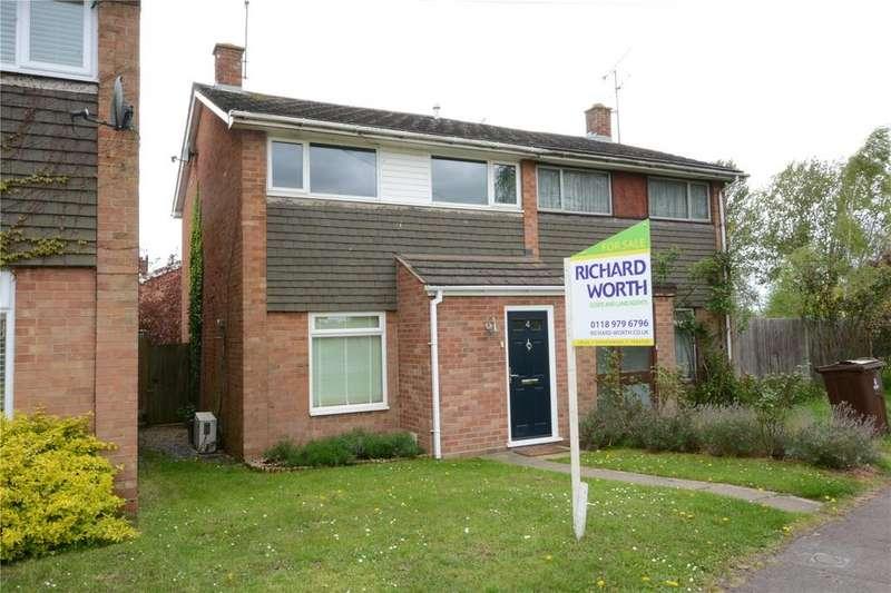 3 Bedrooms End Of Terrace House for sale in Eversley Road, Arborfield, Berkshire, RG2