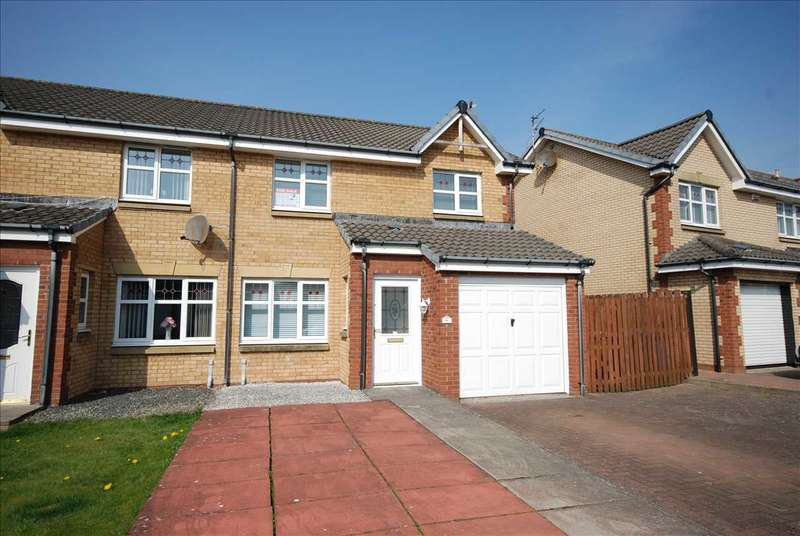 3 Bedrooms Semi Detached House for sale in Three Sisters Court, Saltcoats