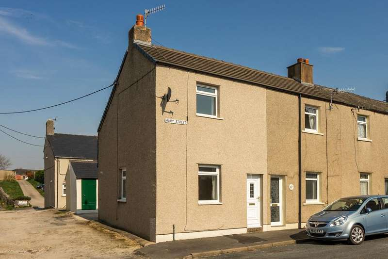 2 Bedrooms End Of Terrace House for sale in Mary Street, Carnforth, Lancashire, LA5 9HJ
