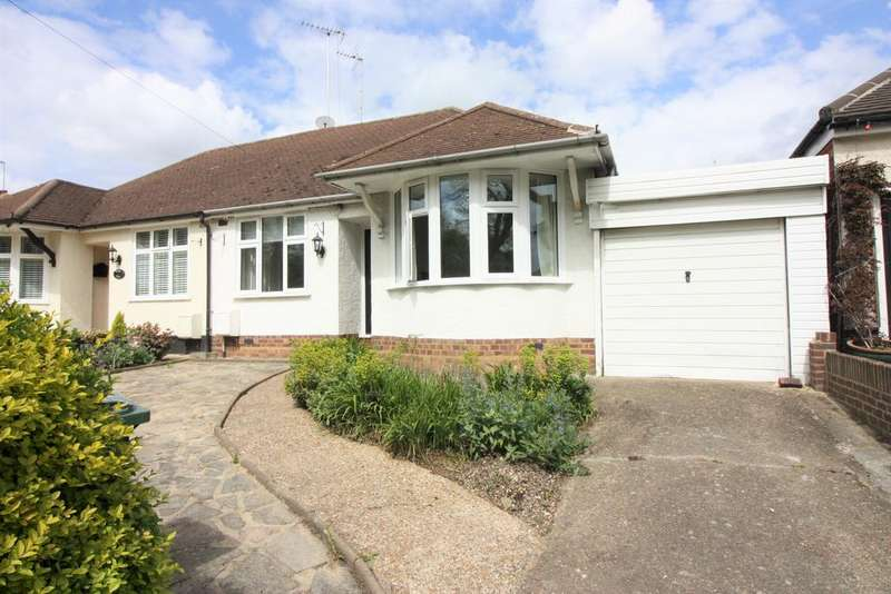 2 Bedrooms Semi Detached Bungalow for sale in Whitehall Road E4