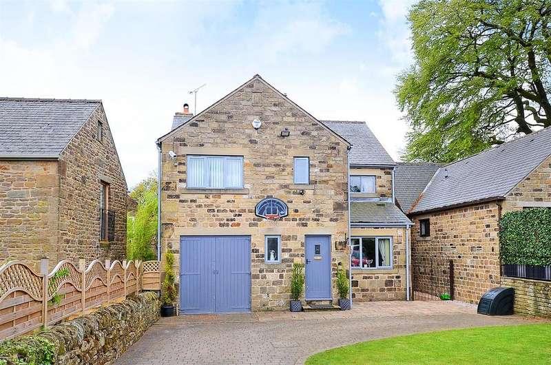 4 Bedrooms Detached House for sale in Park Farm, Dronfield Woodhouse, Dronfield