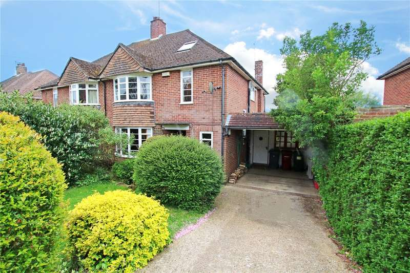 4 Bedrooms Semi Detached House for sale in Crawshay Drive, Emmer Green, Reading, Berkshire, RG4