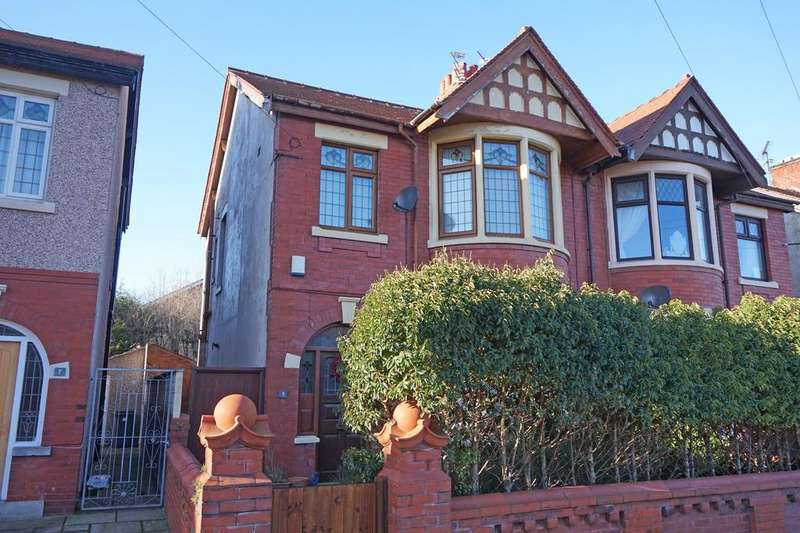 3 Bedrooms Semi Detached House for sale in Kirkstall Avenue Blackpool