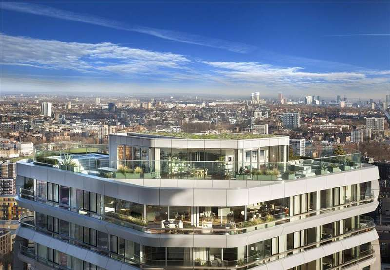 3 Bedrooms Flat for sale in 27.01 Canaletto, 257 City Road, London, EC1V