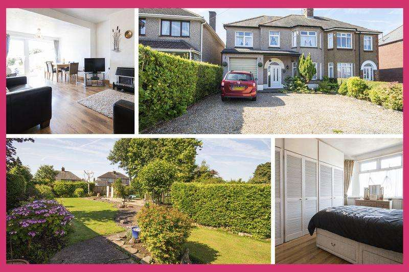 4 Bedrooms Semi Detached House for sale in Christchurch Road, Newport - REF# 00002990 - View 360 Tour at